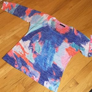 Nally & Millie supersoft semisheer  burnout Tshirt